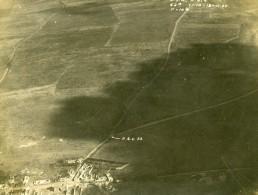 France WWI Front De L'Aisne Gouy Reconnaissance Aerienne Ancienne Photo Octobre 1918 - War, Military