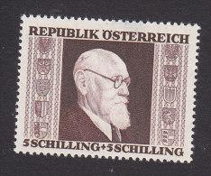 Austria, Scott #B170, Mint Hinged, Pres. Karl Renner, Issued 1946 - 1945-.... 2a Repubblica