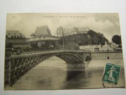 TOM NANTES  Le Pont De La Rotonde, Chateau  Animée, Attelage  Année 1909 - Nantes
