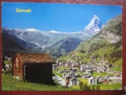 Zermatt (VS) - Ort, Matterhorn - VS Valais