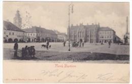 Novy Bydzov Nový Bydžov  Czech Republic, Town Square, C1890s Vintage Postcard - Czech Republic
