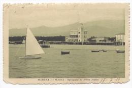 Marina Di Massa - Spiaggia E Hotel Italia - HP781 (G.D.) - Massa
