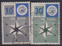 Netherlands 1957 Europa Set Used - Europa-CEPT