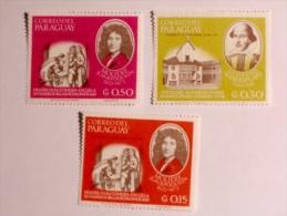 PARAGUAY  1966   LOT# 16  WRITERS - Paraguay
