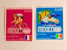 PARAGUAY  1969 / 84   LOT# 20  OLYMPICS - Paraguay