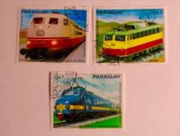 PARAGUAY  1979   LOT# 23  TRAINS - Paraguay