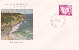 Norfolk Island 1960 Christmas FDC - Norfolk Island