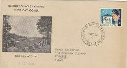 Norfolk Island 1964 Christmas FDC - Norfolk Island