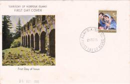 Norfolk Island 1965 Christmas FDC - Norfolk Island