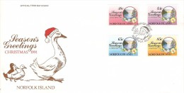 Norfolk Island 1991 Christmas - Norfolk Island