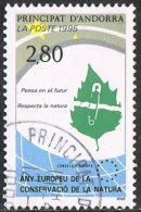 Andorra (French POs) SG F494 1995 European Nature Conservation Year 2f.80 Good/fine Used - Andorra Francesa