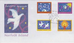 Norfolk Island 1998 Christmas FDC - Norfolk Island