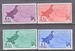 PAKISTAN  108-11    **     MAP - Pakistan