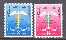 PAKISTAN  118-19    **     MEDICINE - Pakistan
