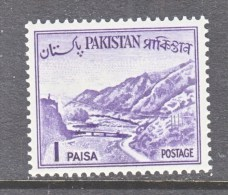 PAKISTAN  129 A  Type  I    **     1961-3 Issue - Pakistan
