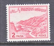PAKISTAN  130   Type  II    **     1961-3 Issue - Pakistan