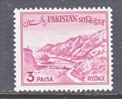 PAKISTAN  131   Type  II    **     1961-3 Issue - Pakistan