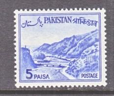 PAKISTAN  132    Type  II   **     1961-3 Issue - Pakistan