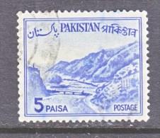 PAKISTAN  132    Type  II   (o)     1961-3 Issue - Pakistan