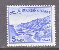 PAKISTAN  132 A    Type  I   **     1961-3 Issue - Pakistan