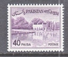PAKISTAN  137        **     1961-3 Issue - Pakistan