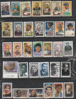 """USA-Used,NH-Lot Of 33 Stamps-""""Black Heritage Series"""". - United States"""