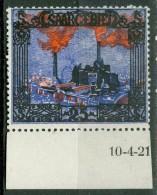 Sarre  Michel  69  Br    *   TB Ou  Yvert 68 *  TB Avec Date  Dans Le Bas De Feuille - 1920-35 Société Des Nations