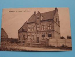 WOUMEN De PASTORIJ ( Le Presbytère ) ( François-Panneel )  Anno 1929 (  Zie Foto Voor Details ) !! - Diksmuide