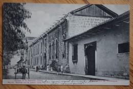 Nicaragua - Leon - Colegio De La Asuncion - Animée - Plan Inhabituel - (n°5770) - Nicaragua