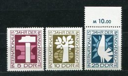DDR  Nr.1368/70           **  Mint             (18964) ( Jahr 1968 ) - Ongebruikt
