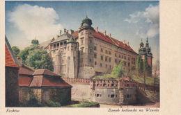 KRAKOW - ZAMEK KROLEWSKI NA WAWELU - Poland