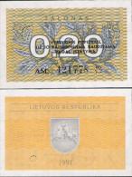 Lithuania 1991 - 0,20 Talonas - Pick 30 UNC - Lituania