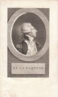 18ème - Gravure Sur Cuivre - Gilbert Du Motier De La Fayette (Chavaniac-Lafayette 1757 - Paris 1834) - FRANCO DE PORT - Stampe & Incisioni