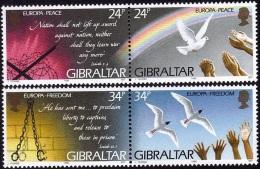 Gibraltar 1995 -  Y.no.719-22 Neufs** - Timbres