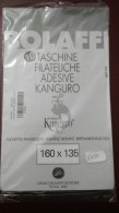 Taschine Filateliche Adesive Kanguro 160 X 135 Fondo Grigio - Mounts