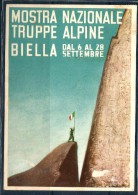ALPINI Biella Cartolina Ufficiale - Régiments