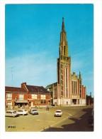 80 Moreuil Eglise Carte Non Voyagée Voiture Automobile Citroen DS - Moreuil