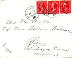 USA. N°71 Sur Enveloppe Ayant Circulé En 1900. G. Washington. - George Washington
