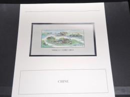 CHINE - Bloc Luxe Avec Texte Explicatif - Belle Qualité - À Voir -  N° 11463 - 1949 - ... Volksrepubliek