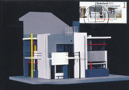 D22135 CARTE MAXIMUM CARD RR 2014 NETHERLANDS - ARCHITECTURE UNESCO WORLD HERITAGE RIETVELD HOUSE UTRECHT CP ORIGINAL - Architecture