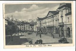 ITALIE AOSTA PIAZZA CARLO ALBERTO - Aosta