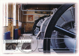 D22136 CARTE MAXIMUM CARD RR FD 2014 NETHERLANDS - WORLD HERITAGE UNESCO WOUDA GEMAAL LEMMER CP ORIGINAL - Architecture