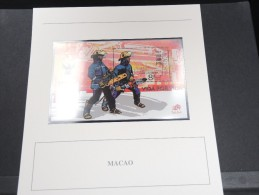 MACAO - Bloc Luxe Avec Texte Explicatif - Belle Qualité - À Voir -  N° 11469 - 1999-... Région Administrative Chinoise