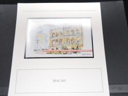 MACAO - Bloc Luxe Avec Texte Explicatif - Belle Qualité - À Voir -  N° 11470 - 1999-... Région Administrative Chinoise