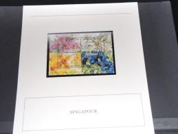 SINGAPOUR - Bloc Luxe Avec Texte Explicatif - Belle Qualité - À Voir -  N° 11476 - Singapour (1959-...)