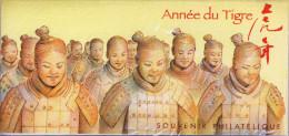 47   Le  TIGRE CALENDRIER CHINOIS ANNEE 2007 Sous Pochette Blister D´origine Jamais Ouverte - Blocs Souvenir