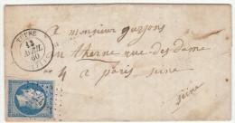 LAC N°14 O. PC + T15 Tuffé Saône Et Loire 1860 - 1849-1876: Periodo Clásico