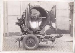 Militaria- Photo Projecteur Anti Aérien BREGUET. (entre 2 Guerres). Tb état. - Optique