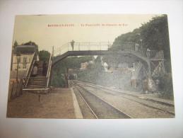 4yq - CPA -  BOURG LA REINE - La Passerelle Du Chemin De Fer -  [92] - Hauts De Seine - - Bourg La Reine