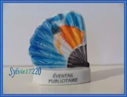 Eventails Publicitaires ...Lot De 4 Feves .... Ref AFF : 80-2005... (pan 0019) - Fèves